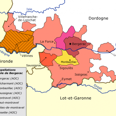 Appellations Bergerac AOC
